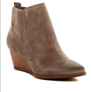 Franco Sarto Welton Wedge Bootie Ankle Boot